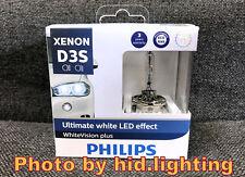 Philips Xenon D3S White Vision gen2 Plus 5000K +120% Ultimate White LED effect