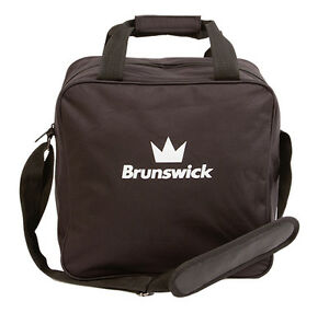 Brunswick Tzone Single  Black 1 Ball Bowling Bag