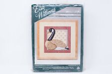 Elsa Williams Needlepoint Kit Wool Tapestry Yarn Canadian Goose Folk Art
