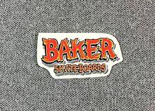 Baker Skateboards Sticker 1.75in NOS red si