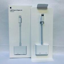 Genuine Apple Lightning Digital AV Adapter HDMI OEM Original - White | MD826AM/A