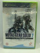 Metal Gear Solid 2: Substance (Microsoft Xbox, 2002) - European Version