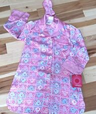 NWT PINK SILKY FEEL NIGHTSHIRT By XHILARATION Size 4-5 Girl With SLeep Blinds