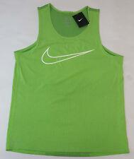 Nike Contour Running Dri Fit Active Tank Top Shirt Mens Sz Medium Singlet Green