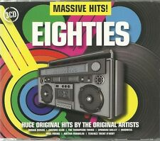 MASSIVE HITS! EIGHTIES - 3 CD BOX SET - ORIGINAL ARTISTS - SPANDAU BALLET & MORE