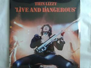 THIN LIZZY LIVE AND DANGEROUS LP 33T neuf new neu 180GM 2009