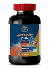 Water Pills - Excess water and sodium Lower blood pressure 1 Bottle, 60 Capsules