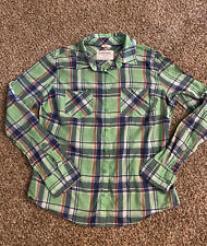 AEROPOSTALE WOMEN'S BUTTON UP SHIRT LARGE