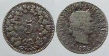 Schweiz 5  Rappen 1898 K-N (1)