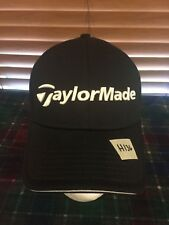 Men's NWOT ADIDAS Taylor Made Penta Black Small Medium Stretch Hat H136