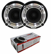 "1"" Super Tweeter High Compression Silver Bullet 600W Pair DS18 PRO-TW120"