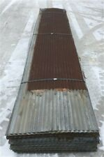90 Sheets Barn Tin Roofing Corrugated Reclaimed Salvage, 12' Long 2340 sq ft, a