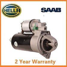Genuine HELLA Starter Motor SAAB 9-3 9-5 2.2 TiD 1998-2005 2.0kW YS3D YS3F YS3E
