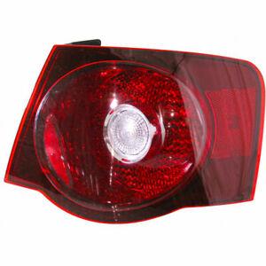 Passenger Right RH Taillamp Lens/Housing fits 2008 2010 Volkswagen Jetta Type-5