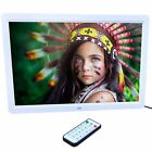 New 15 inch HD  LED Digital Photo Picture Frame MP3 MP4 Movie+Remote Control ##