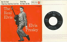 "Elvis Presley EP deutsche Victor RCA EPA-940 ""The Real Elvis"" V1"