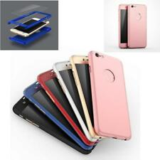 360° Shockproof Phone Case For iPhone Samsung With Glass Film Screen Protector