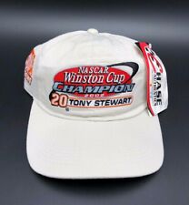 Tony Stewart #20 2002 NASCAR Winston Cup Series Champion Adjustable Racing Hat