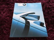 BMW 3 Series Convertible Brochure - 2002 - 1/2002 Issue