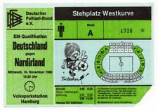 Ticket Germany - Northern Ireland 16.11.1983