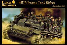 Caesar 099 - WWII German Tank Riders - Camouflage Suit - 1:72
