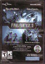 PC DVD-ROM Game:  FINAL FANTASY XI ONLINE - VANA'DIEL COLLECTION 2008 - RPG