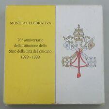 Vatikan / Vatican State 500 Lire 1999 Ag / Silber p322 st / bu in Schatulle