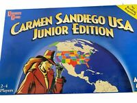 Vintage Where In The World Is Carmen SanDiego Complete Board Game San Diego 1998