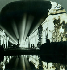 Keystone Stereoview Court of 4 Seasons Pan-Pacific Expo San Francisco 1915 PPIE