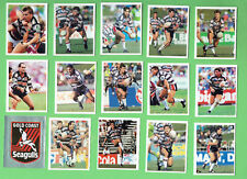 1993 GOLD COAST  SELECT RUGBY LEAGUE STICKERS