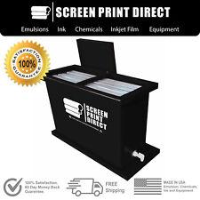 Ecotex Screen Printing Equipment 30 Gallon Dip Tank Fits Up To 6 Screens