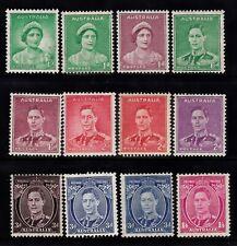 1937-41 KING GEORGE VI FULL SET PRE-DECIMAL STAMPS MLH/MUH #F51