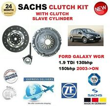 FOR FORD GALAXY WGR 1.9 TDi 2003-ON SACHS CLUTCH KIT with SLAVE CYLINDER