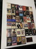 Lot of 40 Vintage Music Cassette Tapes Fully Tested And All Play
