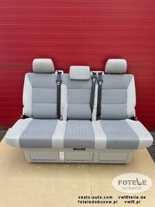 VW T6 Sitzbank Multivan Sitz Schlafsitzbank Schlafbank T5 Cheyenne Grau