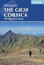 The Gr20 Corsica: Complete Guide to the High Level Route (Paperback or Softback)