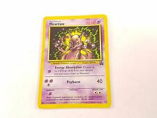 POKEMON TCG CARD BLACK STAR PROMO MEWTWO #14 giocato con