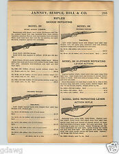 1936 PAPER AD Savage Repeating Rifle Model 99 99RS NRA 1933 Super Sporter