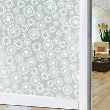 Window Film No Glue Static Cling Decorative Privacy Non-Adhesive Anti UV Office