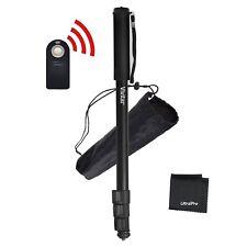 """UltraPro 67"""" Monopod + Wireless Remote Bundle for Canon Digital Cameras"""