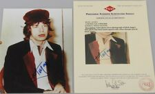 ROLLING STONES MICK JAGGER Hand Signed 8'x10 Photo + COA MF014040 *BUY GENUINE