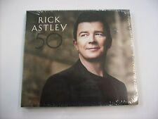 RICK ASTLEY - 50 - CD SIGILLATO DIGIPACK 2016