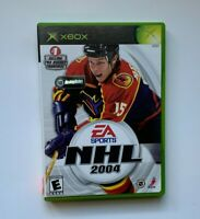 NHL 2004 (Microsoft Xbox, 2003) Complete and Tested