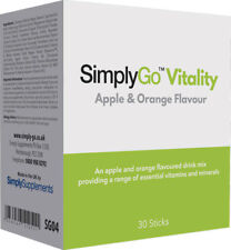 SimplyGo Vitality | Multivitamin Powder for All Round Health | 30 x 9g Sachet