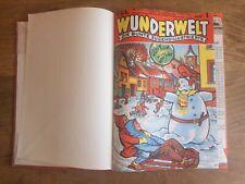 Wunderwelt, Die bunte Jugendillustrierte, Jg. 1956, gebunden