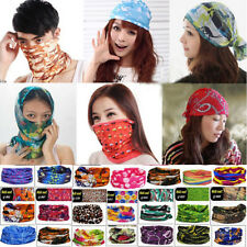 67 Colors Multi Purpose Magic Scarf Face Mask Snood Bandana Neck Warmer Outdoor