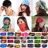67 Colors Multi Purpose Magic Scarf Face Mask Snood Bandana Neck Warmer Outdoor