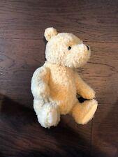 "Gund Disney Classic Winnie the Pooh Teddy Bear Jointed Plush 9"" Curly Tan"