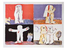 Horst antes sühneengel póster son impresiones artísticas imagen 68x90cm-envío gratuito