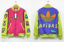 NEW Adidas x Jeremy Scott x Kenny Scharf mens KS VARSity JACKET Size S Authentic